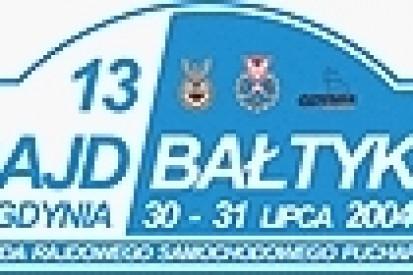 13 Rajd Bałtyku - Szutrowe ściganie na Kaszubach.