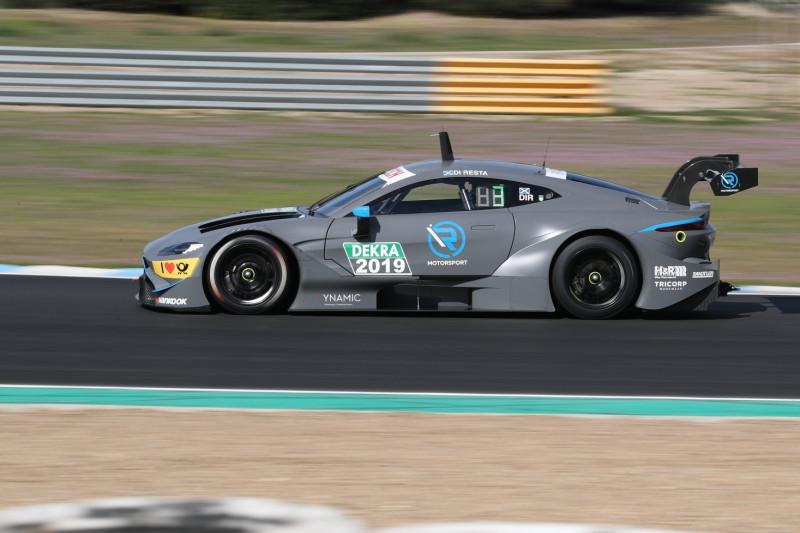 Aston Martins Feuertaufe und neue Autos: So läuft der DTM-Test in Jerez
