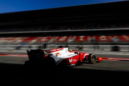 Formel-2-Test in Barcelona: Mick Schumacher nach Halbtag auf P6