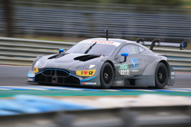 DTM-Tests: So lief die Aston-Martin-Premiere in Jerez