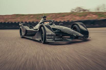 Porsche testet erstmals sein Formel-E-Entwicklungsfahrzeug