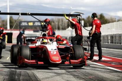 Formel-2-Test Barcelona: Mick Schumacher zum Abschluss im Mittelfeld