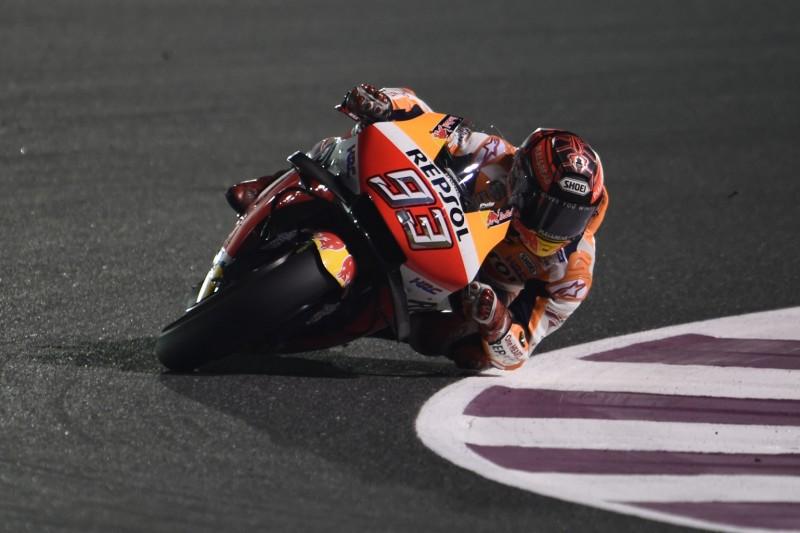 MotoGP in Katar FT2: Marquez fährt Rundenrekord, Rossi nur 17.