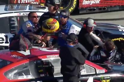 Schlägerei im NASCAR-Qualifying in Phoenix