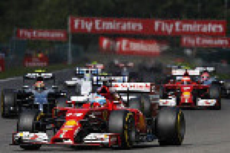 Ferrari idzie w dobrą stronę