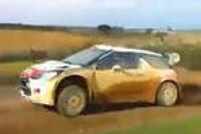 Østberg na testach Citroëna