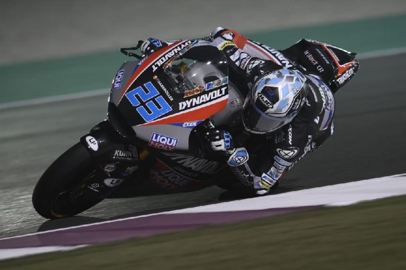 Moto2 in Katar Qualifying: Marcel Schrötter auf der Pole-Position