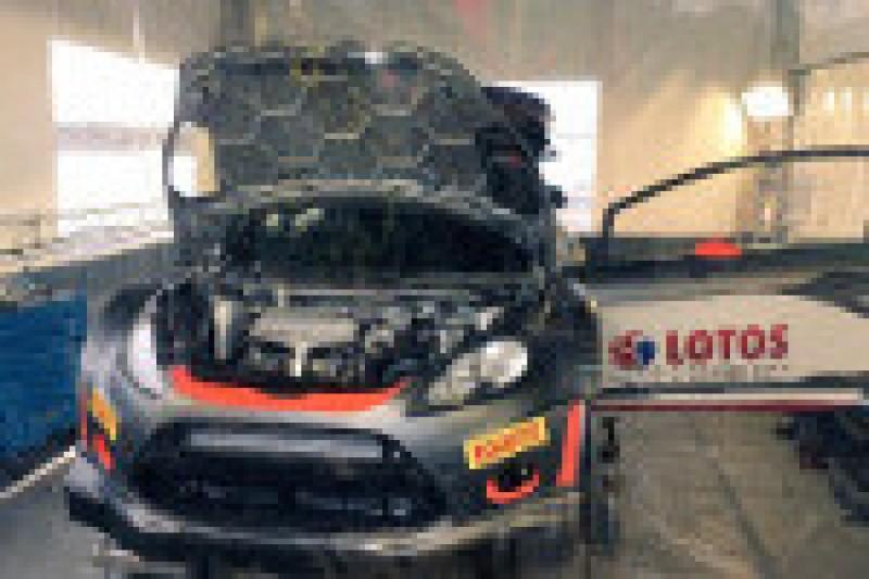 Ta Fiesta już wygrała Rally Sweden