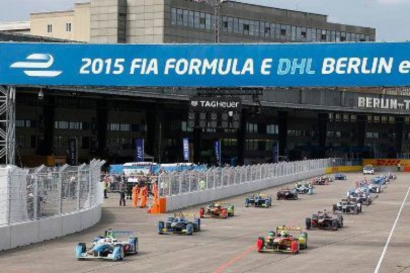 ePrix w centrum Berlina
