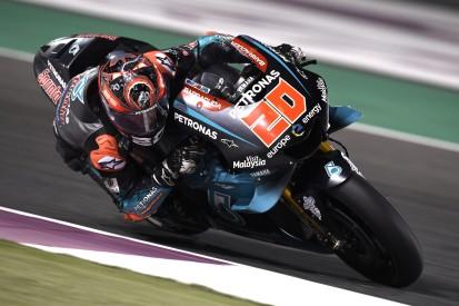 Die MotoGP-Elite staunt: Rookie Fabio Quartararo beim Debüt auf P5