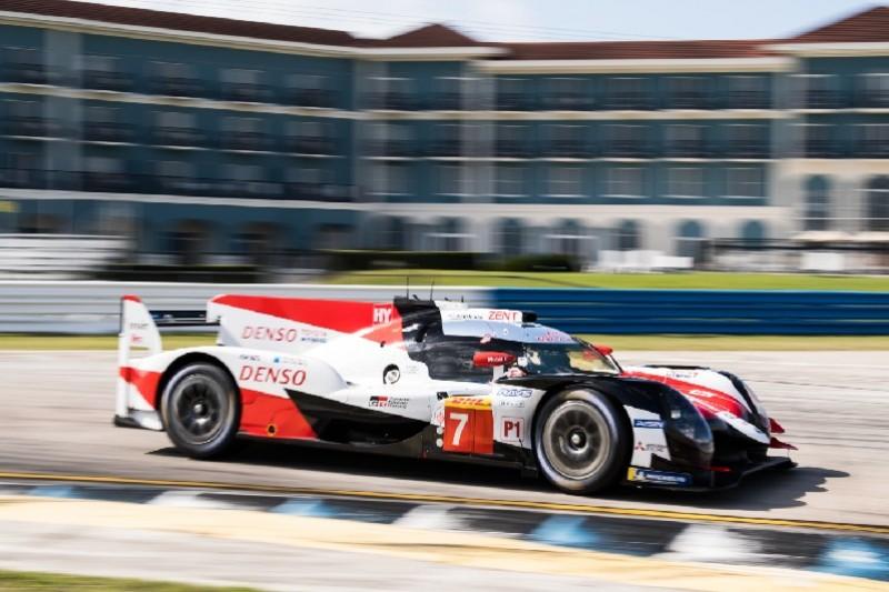 WEC-Test in Sebring: Toyota fährt inoffiziellen Rundenrekord