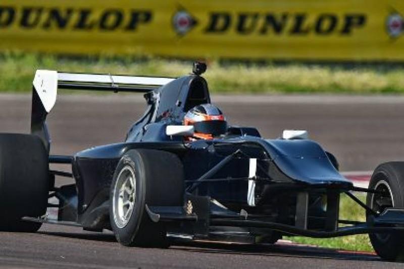 Kubica ponownie testował GP3