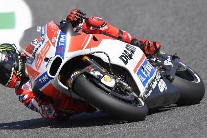 Nielogiczny styl jazdy na Ducati