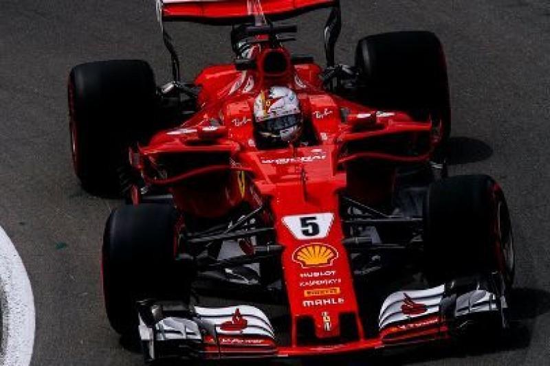 Ferrari pokazało tempo
