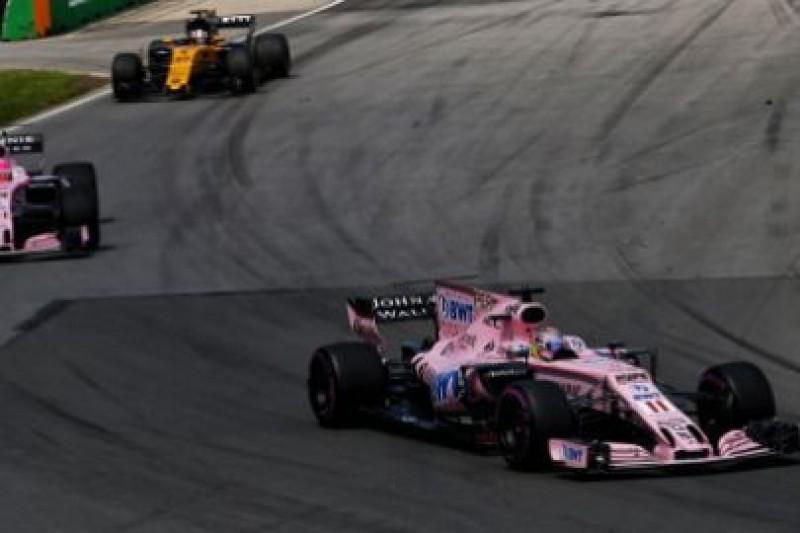 Force India rozważa zmianę nazwy