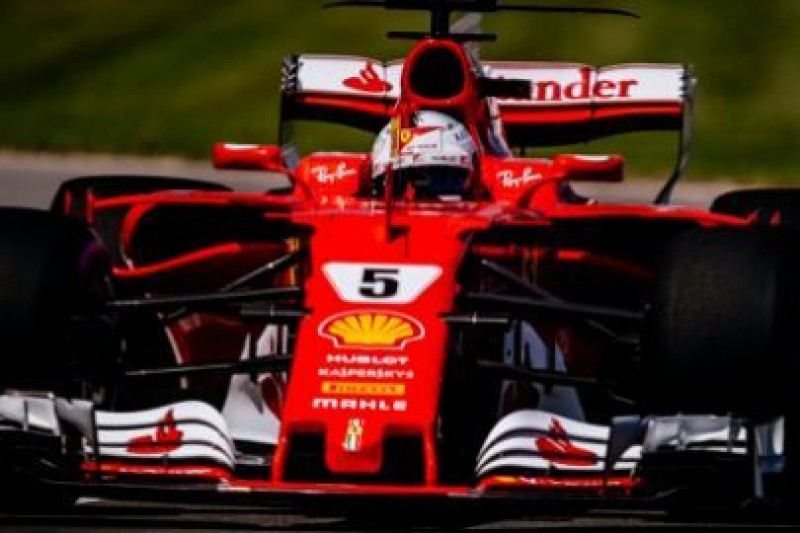 Vettel nie zyskał na testach opon