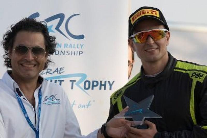 Tsouloftas otrzymał Colin McRae Flat Out Trophy