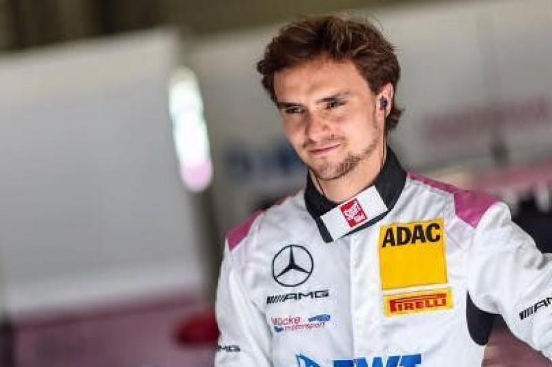 Auer na testach F1