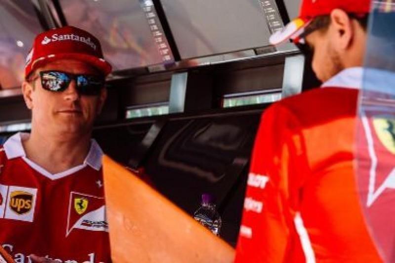 Raikkonen pomoże Vettelowi