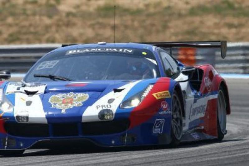 Włoch w rosyjskim Ferrari