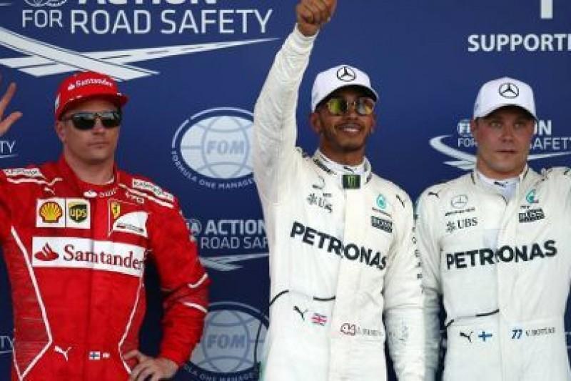 66 pole position Hamiltona