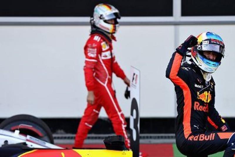 Ricciardo ocenił zachowanie Vettela