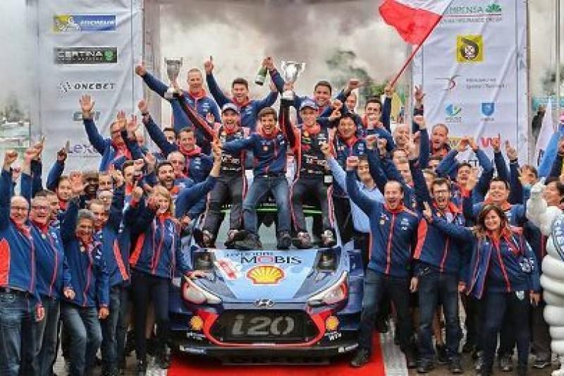 Thierry Neuville wygrywa Rajd Polski
