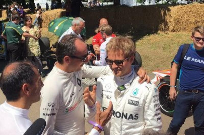 Festiwal z Kubicą i Rosbergiem