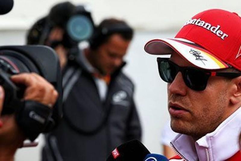 Vettel bez pośpiechu