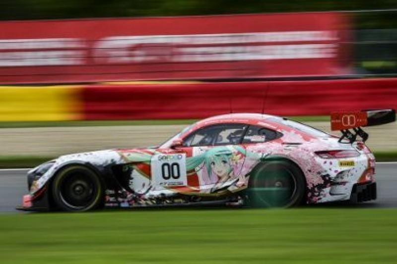 Kobayashi rozbił Mercedesa
