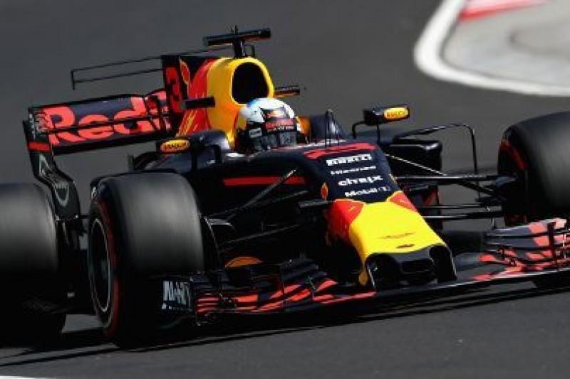 Piątek Ricciardo, kraksy Wehrleina i Palmera