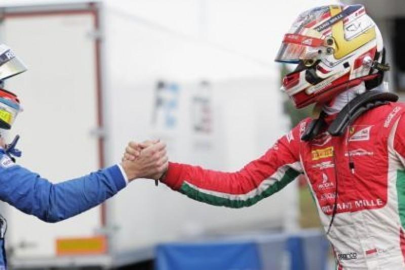Trwa seria Leclerc'ka