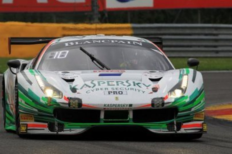 Ferrari na pole position