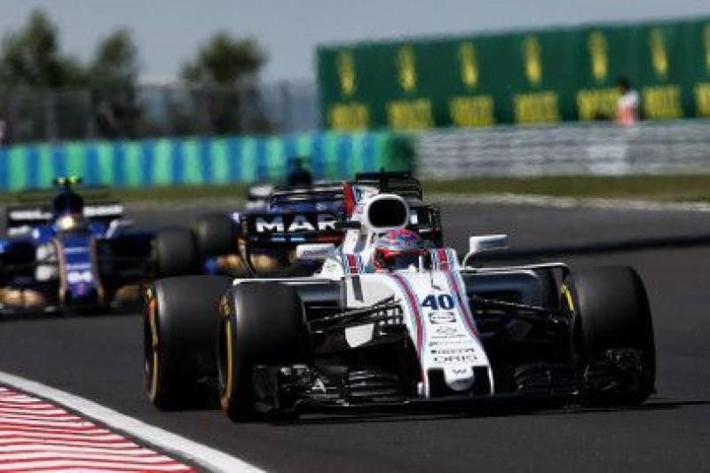 Standardowe części w F1?