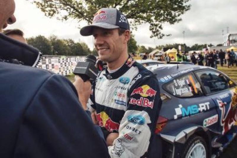 Ogier rozmawia z Citroënem