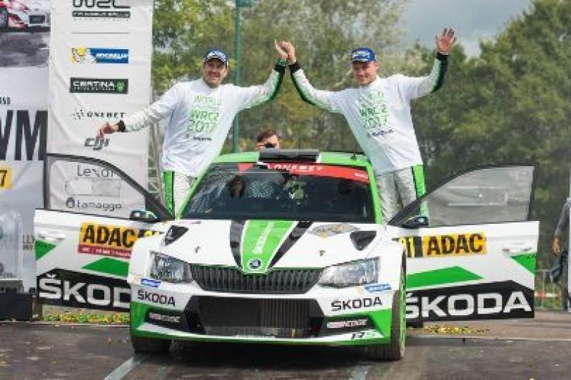 Tidemand mierzy w WRC