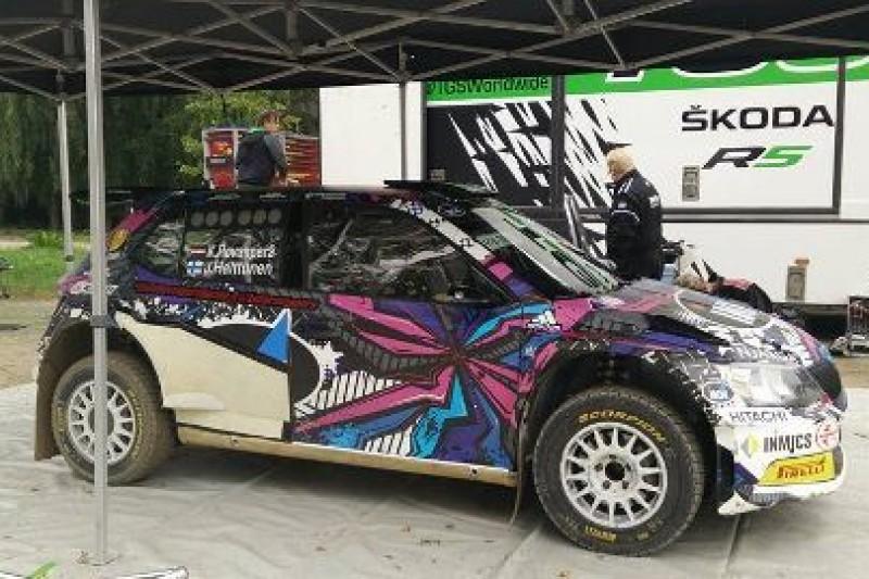 Kalle szybszy od WRC
