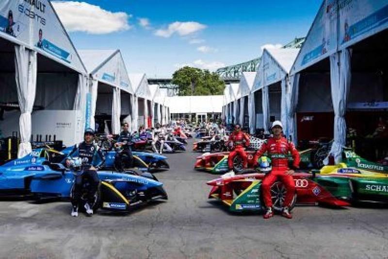 Dziesięć ekip w Formule E