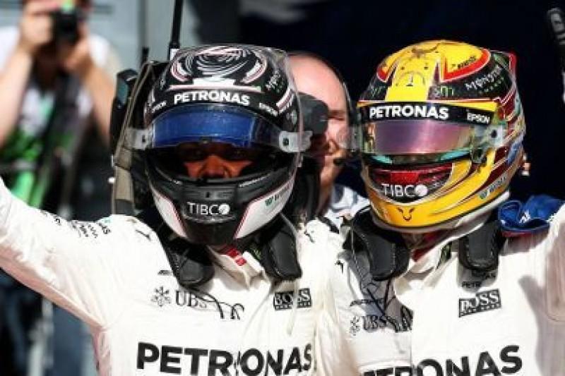 Hamilton na czele mistrzostw