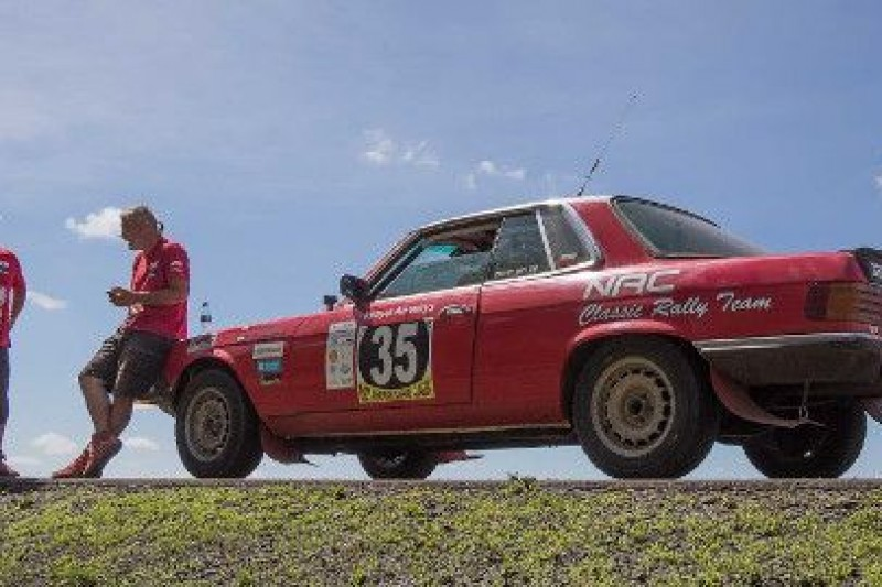 Niedokończona misja NAC Rally Team