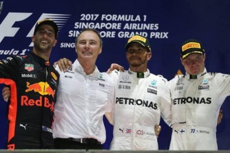 Wieczór Hamiltona, katastrofa Ferrari