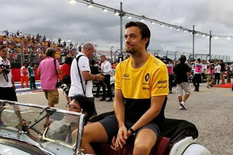 Palmer stara się o miejsce w Williamsie