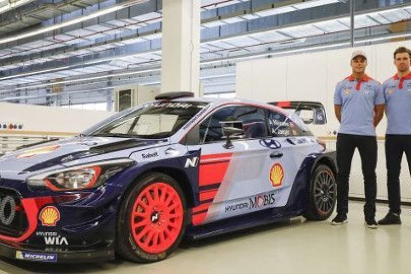i20 WRC z poprawkami