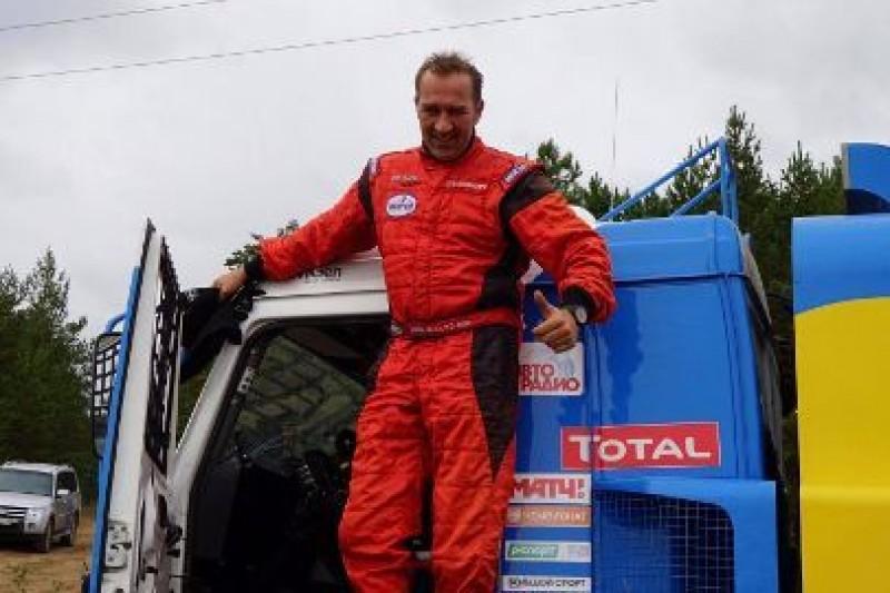 Van den Brink testował Kamaza