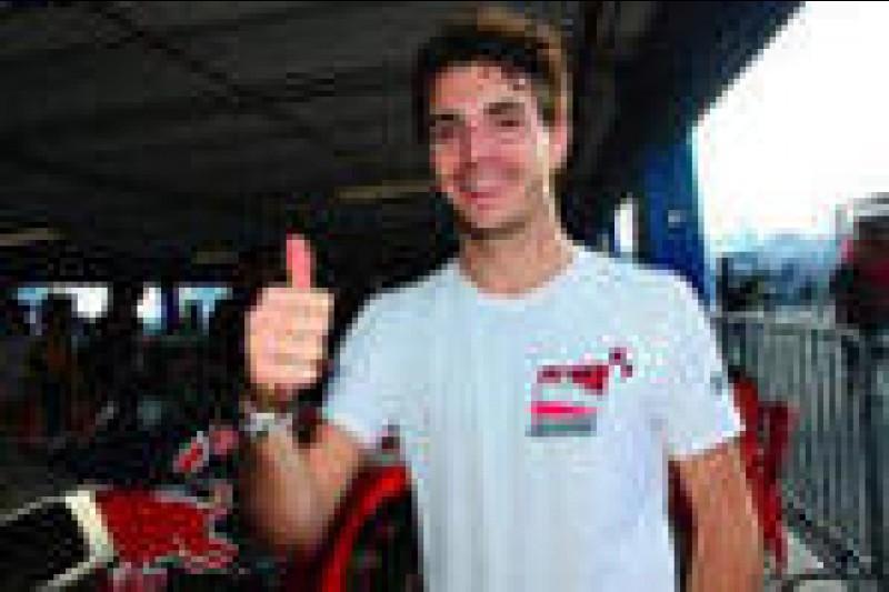 Bianchi z pole position