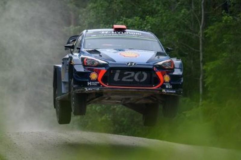 Cztery i20 Coupé WRC w Walii