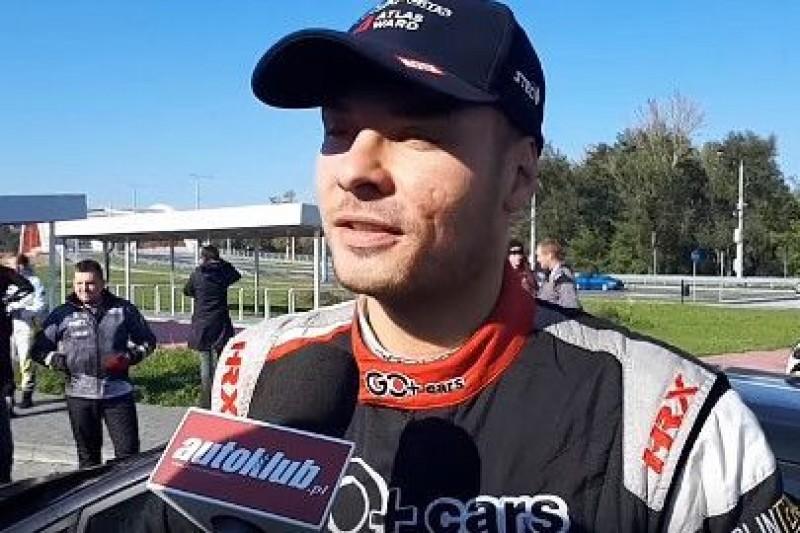 Brzeziński w Rally Legend
