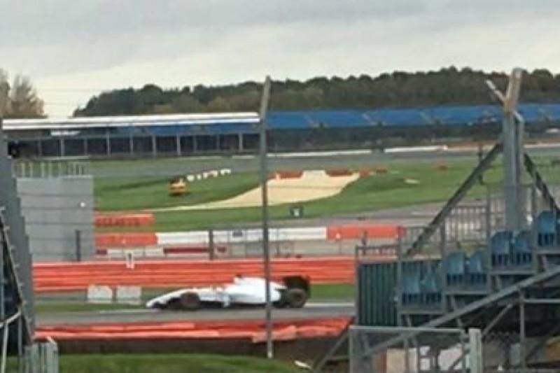 Kubica jeździ na Silverstone