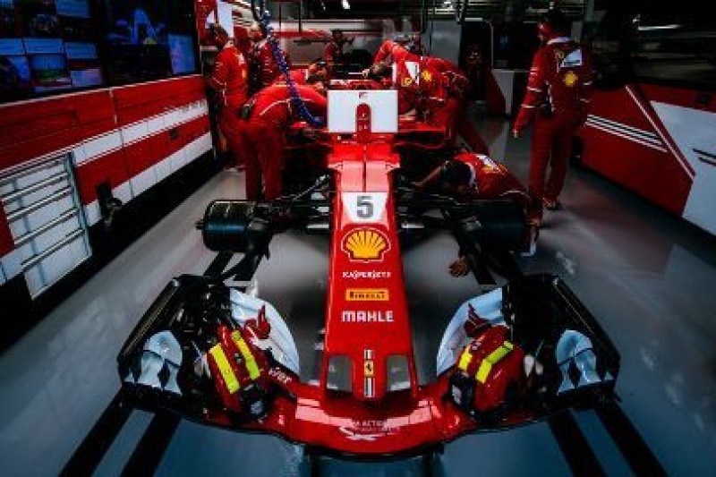 Mendoza w Ferrari