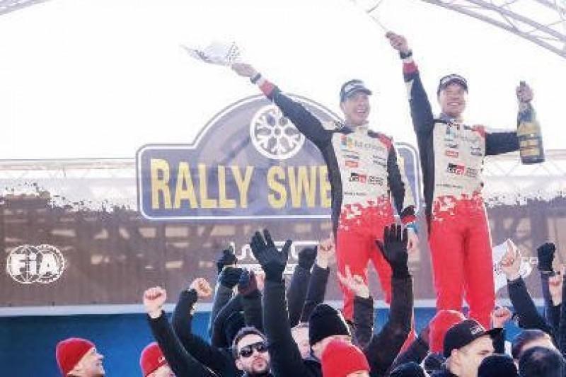 19 oesów Rally Sweden